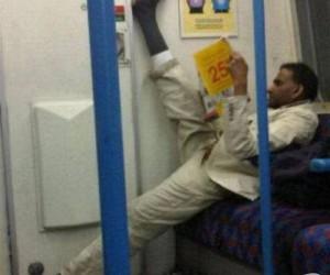 Rozluźnij się w metrze
