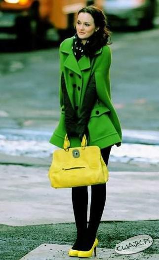 Żółto-zielona