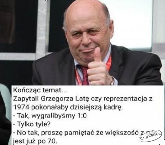 Cięta riposta Grzegorza Laty