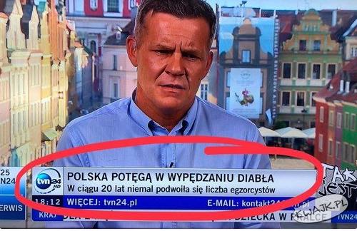 Pasek na TVN24