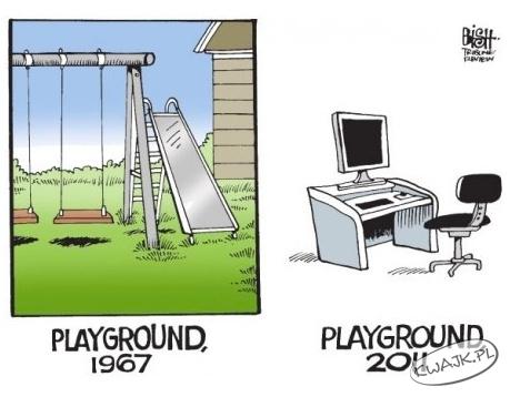Plac zabaw 1967 i 2011