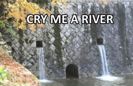 Płacząca tama