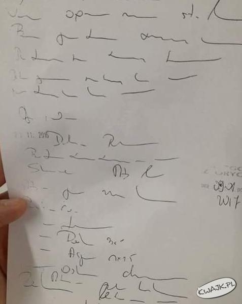 Pismo lekarza w Polsce