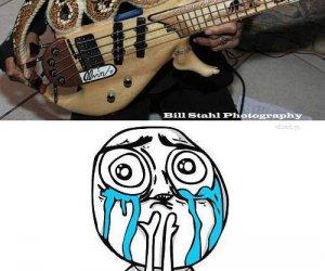 Mamo chcę taką gitarę