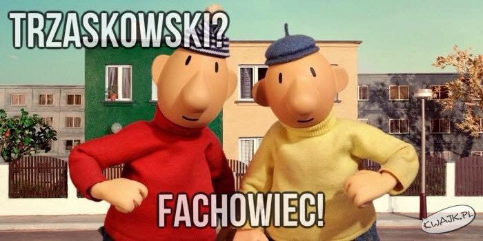 Szacun dla Trzaskowskiego...