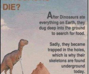 Jak umarły dinozaury