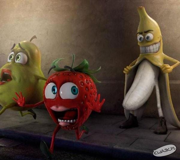 Banan atakuje