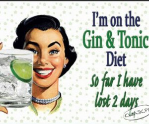 Straciłam 2 dni na diecie Gin & Tonic