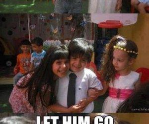 Zostaw go!
