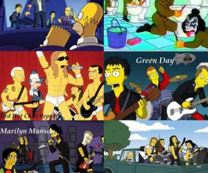 Rock with Simpsons