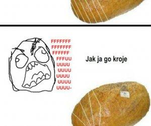Krojenie chleba