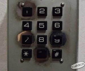 spróbuję zgadnąć szyfr
