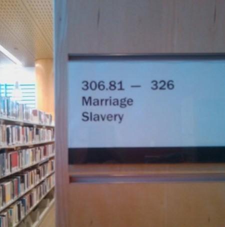 Dział: Małżeństwo, niewolnictwo