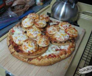 Pizza z pizzą