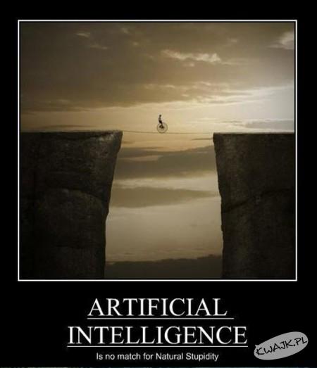 Sztuczna inteligencja nie ma szans z naturalną głupotą!