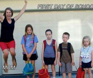 Pierwszy dzień szkoły