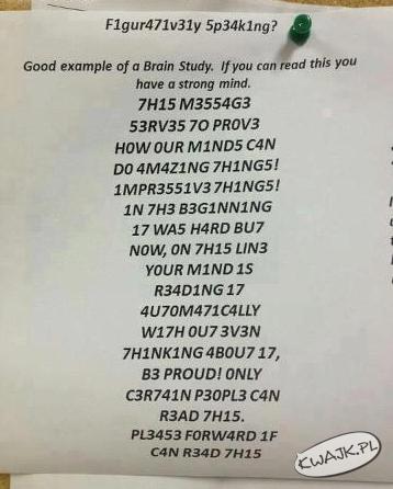 Udostępnuj jeśli możesz przeczytać!