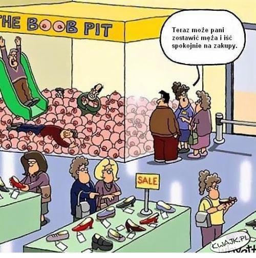 Może Pani iść na zakupy