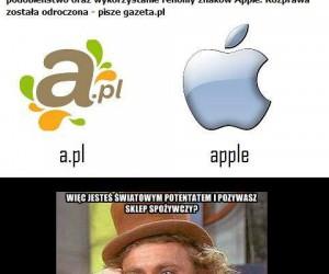 Apple znów pozywa