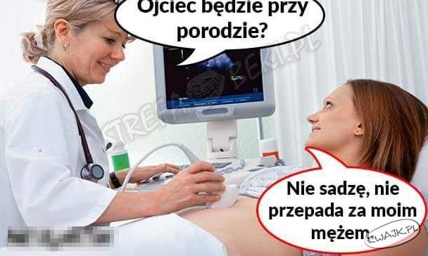 Ojciec będzie przy porodzie?