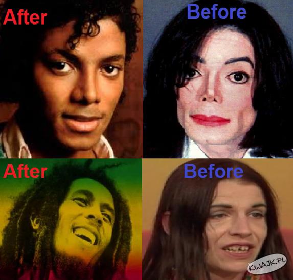 Przed i po ;)