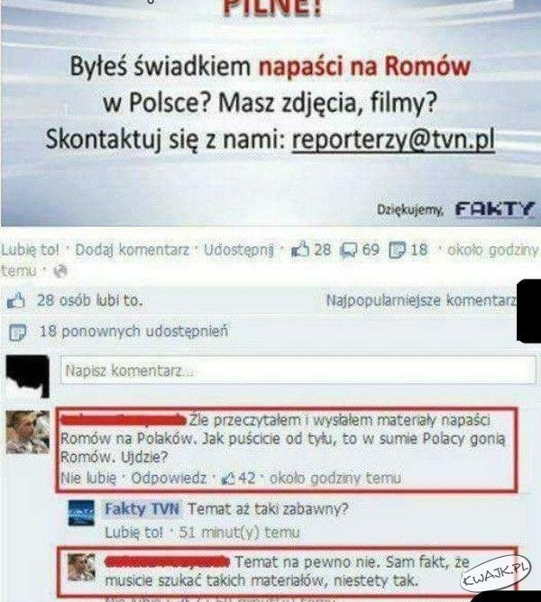 Trolling TVN24