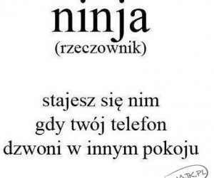 Ninja - jest w każdym z nas