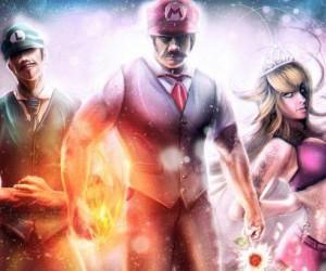Mario na koksie