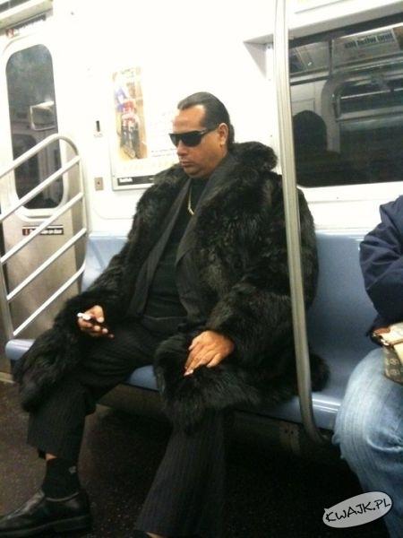 Zimno w tym tramwaju