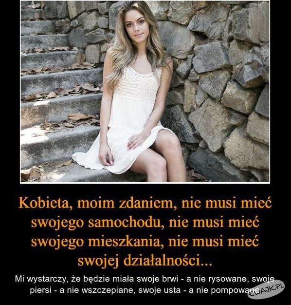 Kobieta nie musi...