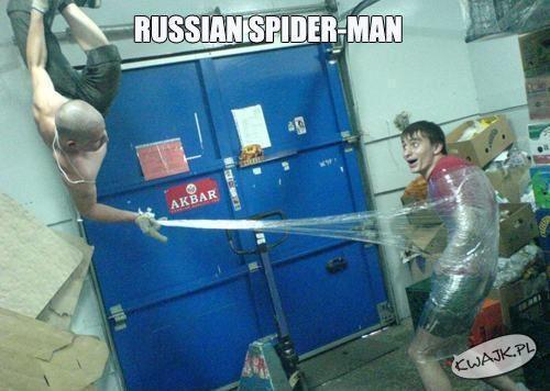 Rosyjski spiderman