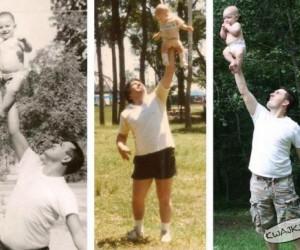 Trzy pokolenia mężczyzn doprowadzających swoje żony do nerwicy