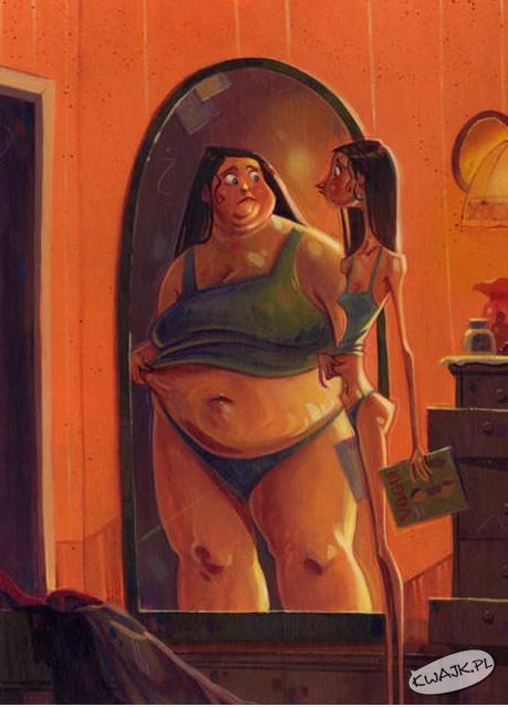 Anoreksja może dopaść także Ciebie