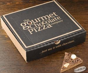 Pizza z czekolady