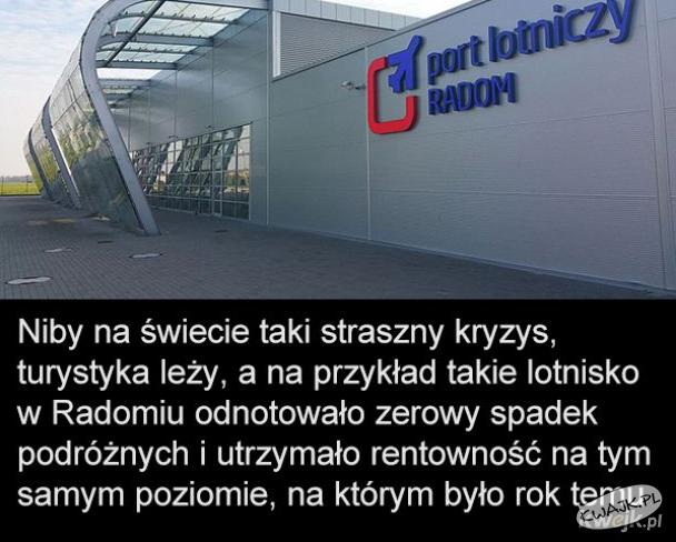 Turystyka i lotnisko w Radomiu